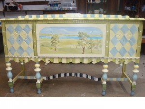 HandPainted Buffet