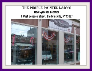 picmonkey the purple painted lady savvy chick 1 west genesee street NEW LOCATION