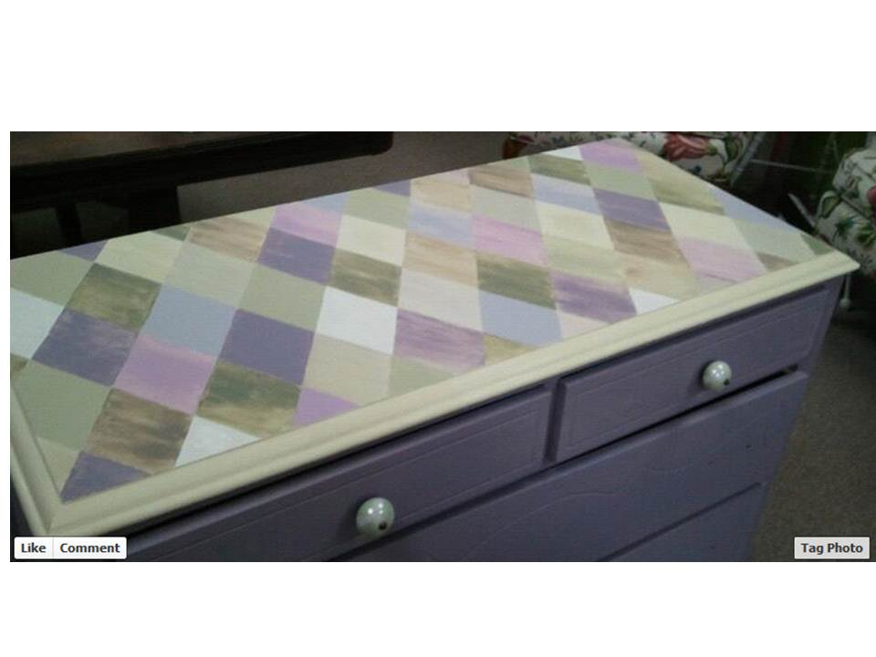 good Purple Chalk Paint Furniture Part - 6: Great ...