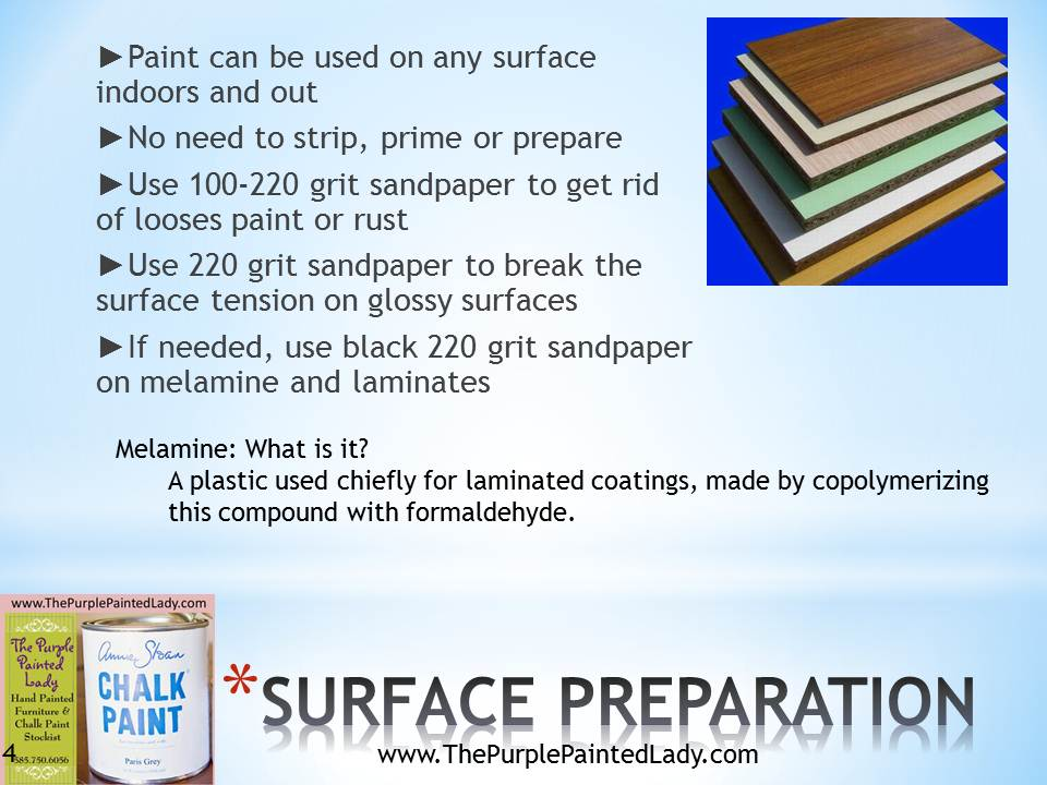 Information About Chalk Paint 174 The Purple Painted Lady