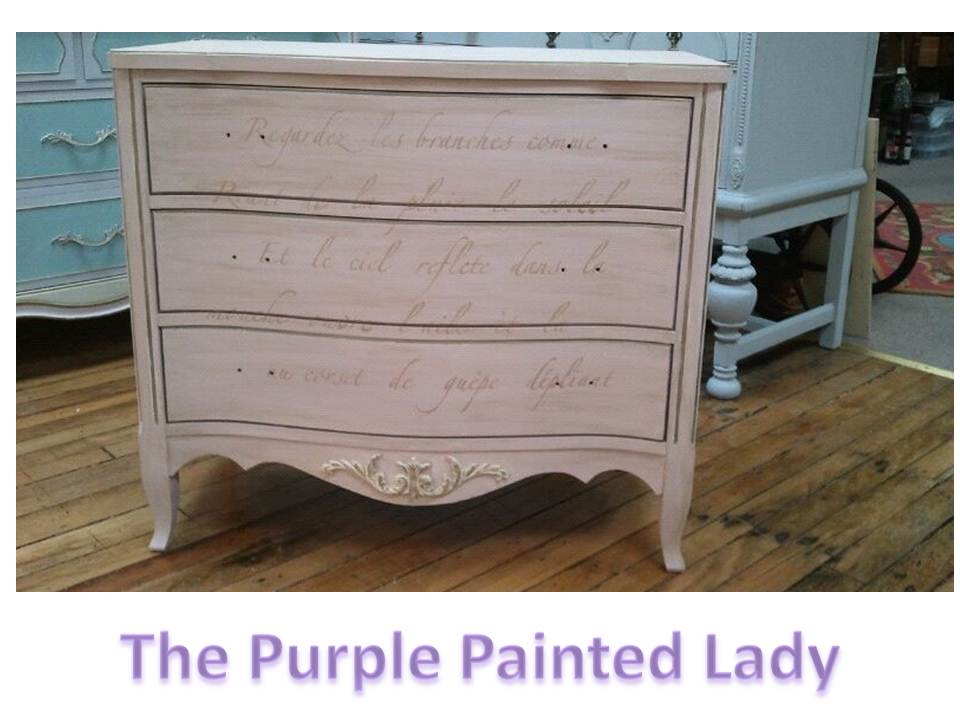 ordinary Purple Chalk Paint Furniture Part - 17: Cute Little Dresser- Basic Painting ...