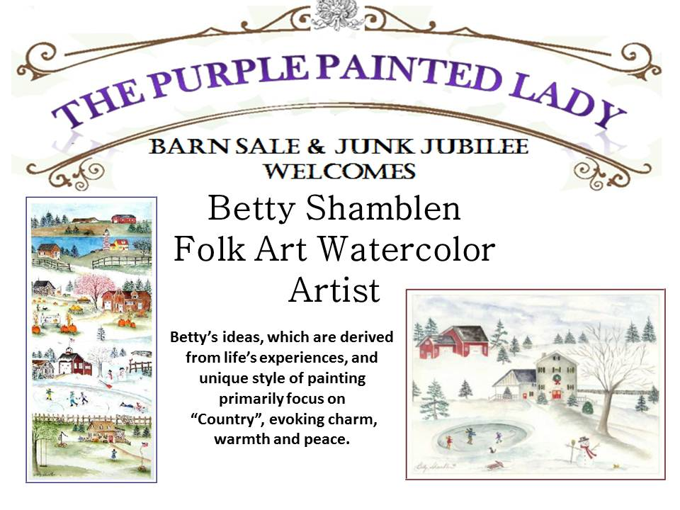 Become A 2012 Barn Sale Vendor The Purple Painted Lady