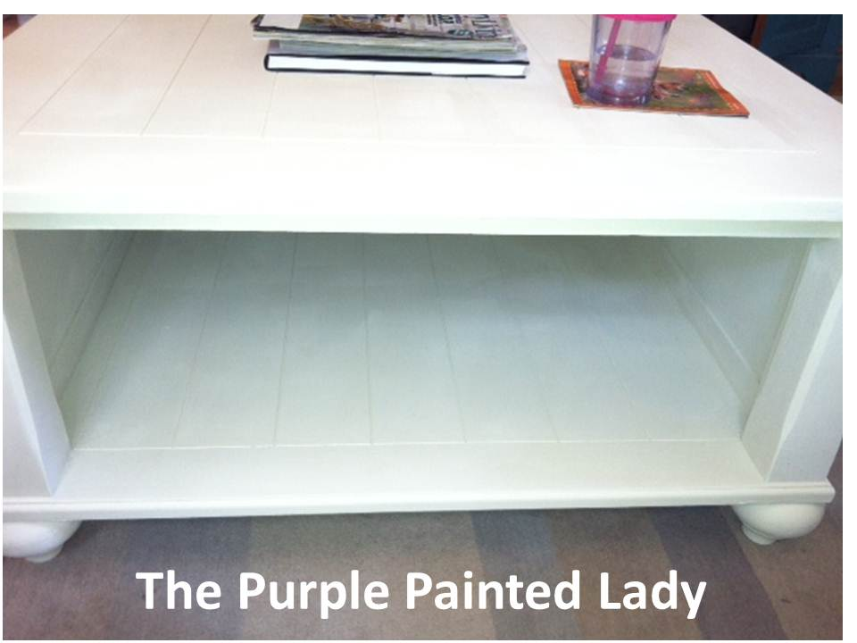 First Off  I Love Your Coffee Table. Great Job With Painting It!