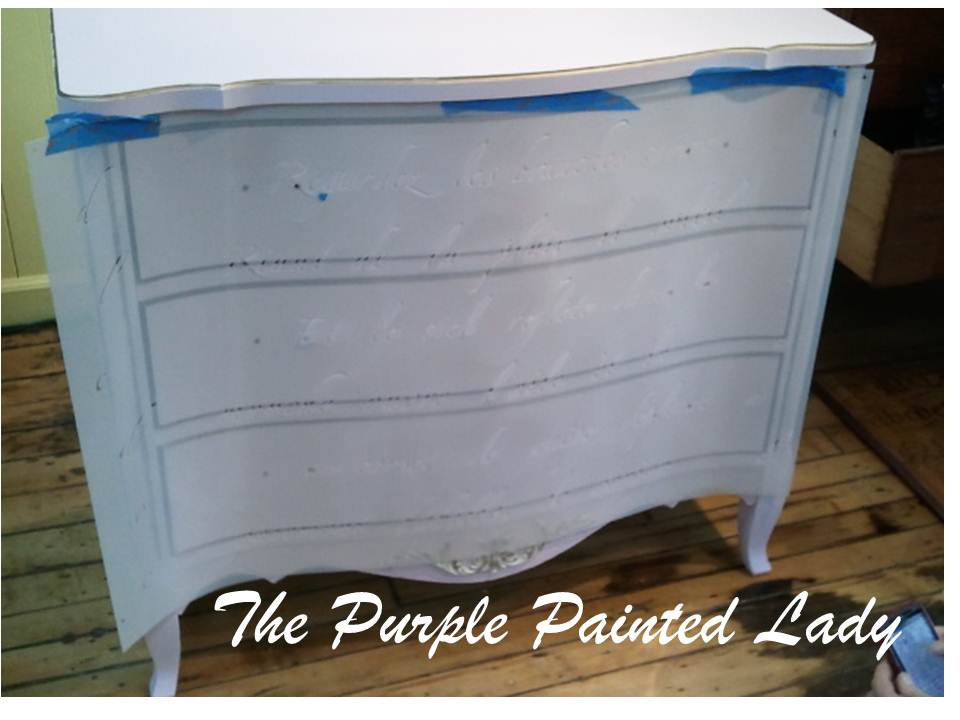 chalk painting chest of drawers how to make a wash with chalk paint the purple painted lady