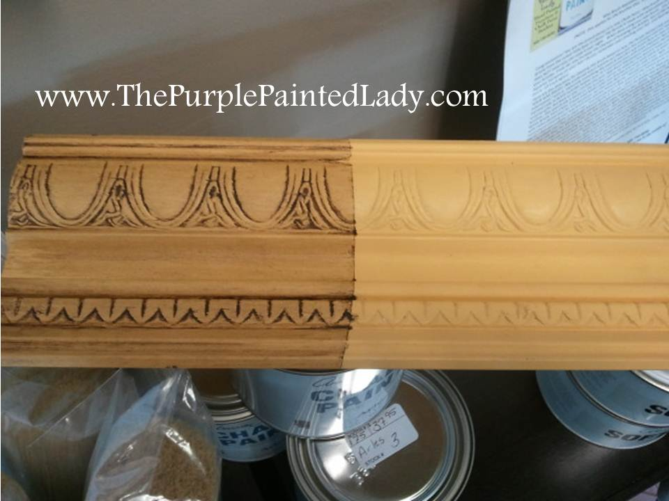 how to paint over clear coat on pine wainscott