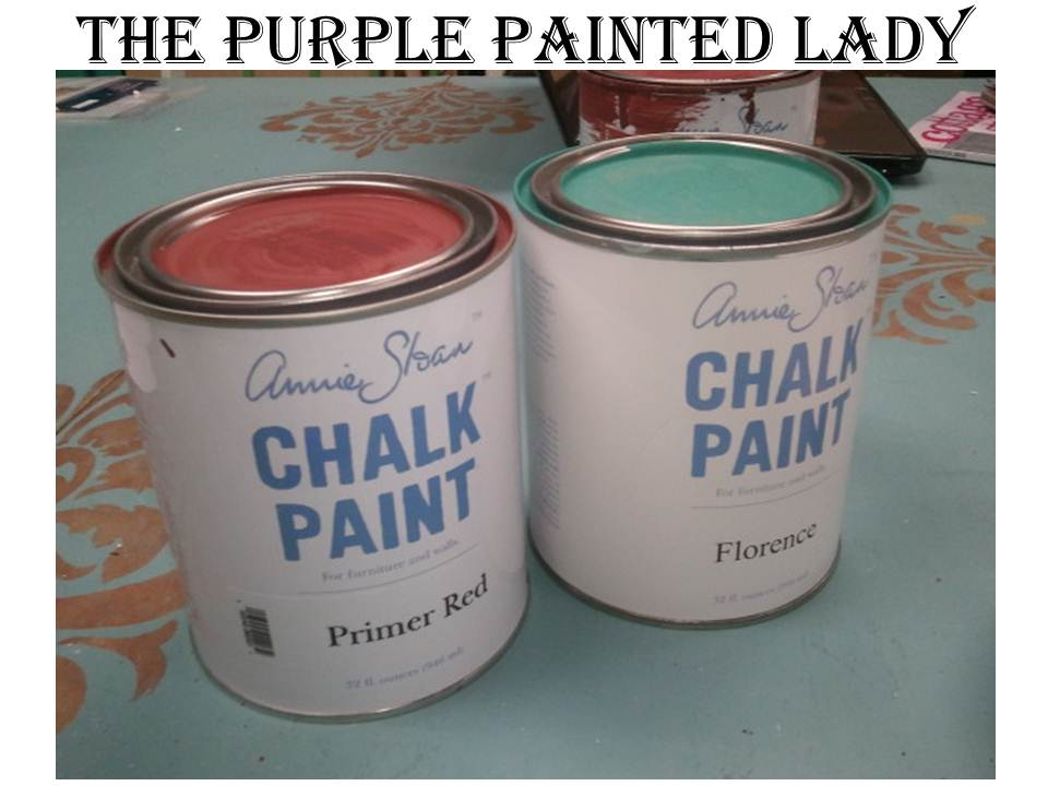 Flroence Primer Red Paint Cans The Purple Painted Lady