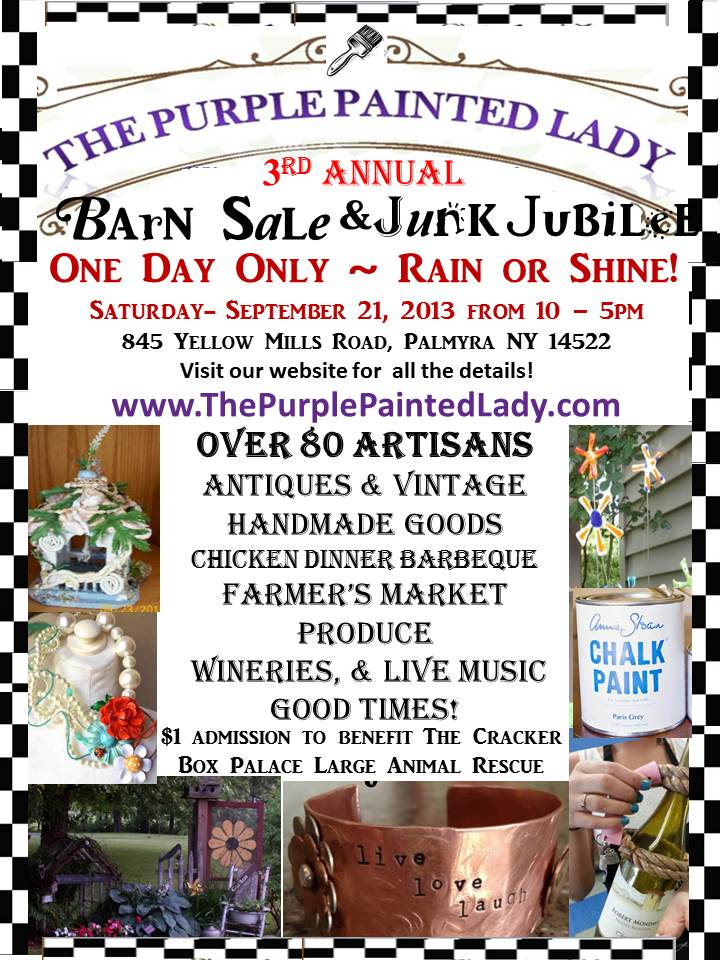 BARN SALE FLYER 2013 3rd annual