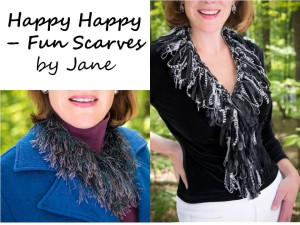 Happy Scarves by Jane