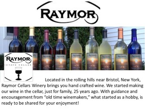 Raymor Wine estate cellare