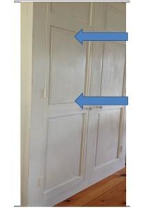 Blotchy Appearance cabinet