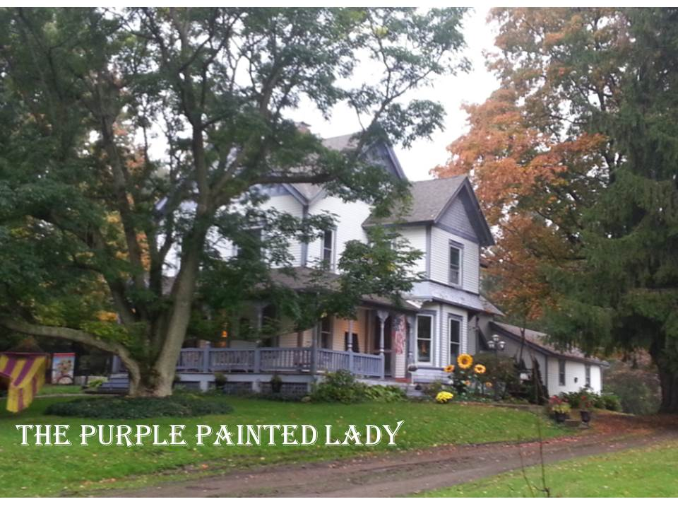 ... We Have: House The Purple Painted Lady