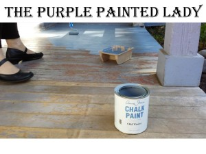 Using Chalk Paint Outside The Purple
