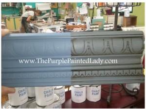 Old Violet Sample Board