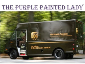 UPS Truck deliver