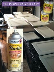 Kitchen Cabinets shellac Zinsser