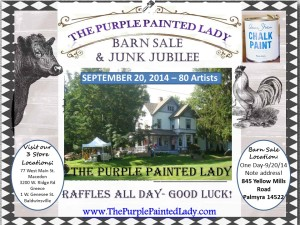 Barn Sale Flyer September 2014 Baldwinsville