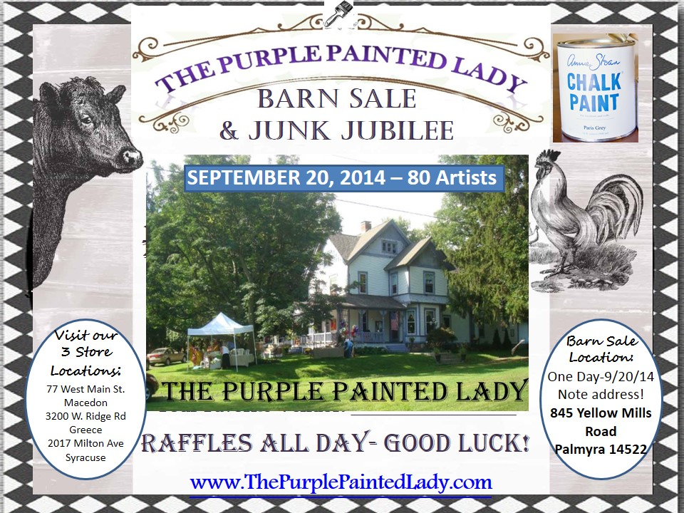 Barn Sale Sept 2014
