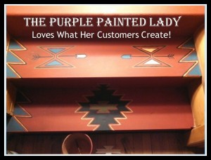 Painted Stairs Chalk Paint The Purple Painted Lady South west style