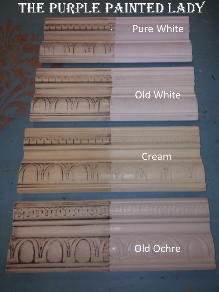 White Differences The Purple Painted Lady Old Ochre Pure Cream 2 Color Descriptions