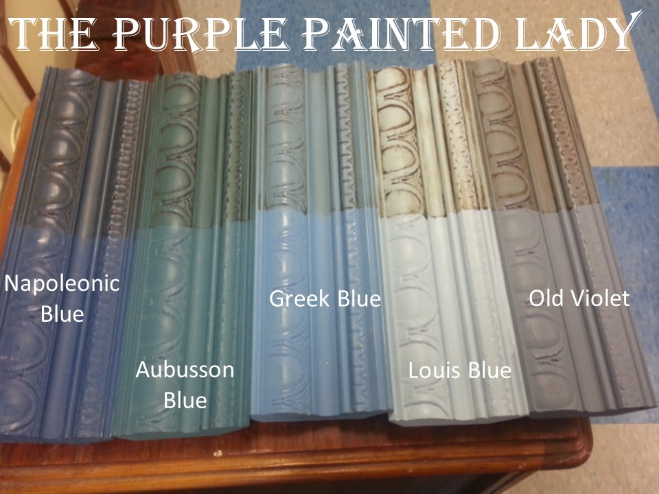 Blue The Purple Painted Lady Comparison landscape