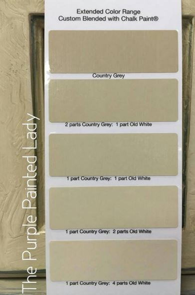 paper white paint colorDifferences between Annie Sloans Grey Chalk Paint Colors  The