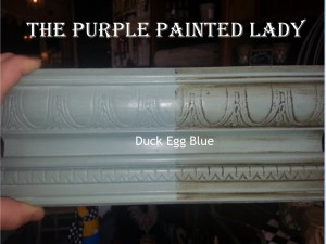 Duck Egg Blue Sample Board Annie Sloan Chalk Paint  The Purple Painted Lady