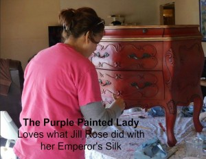 Emperors Silk The Purple Painted Lady Jill E Rose 2016 B