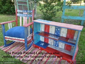 Emperors Silk The Purple Painted Lady Joshua Brodie The Turqoise Fairy 2016