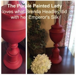 Emperors silk The Purple Painted Lady Brenda Headley B
