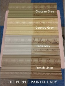 French Linen Chateau Grey Paris Grey Comparing The Purple Painted Lady Country
