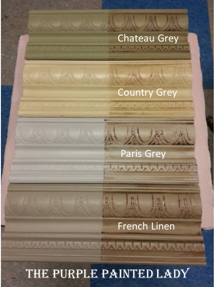 French Linen Cau Grey Paris Comparing The Purple Painted Lady Country