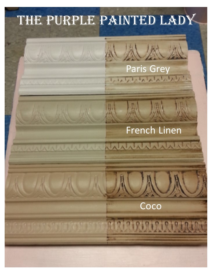 French Linen Paris Grey Coco Comparing The Purple Painted Lady