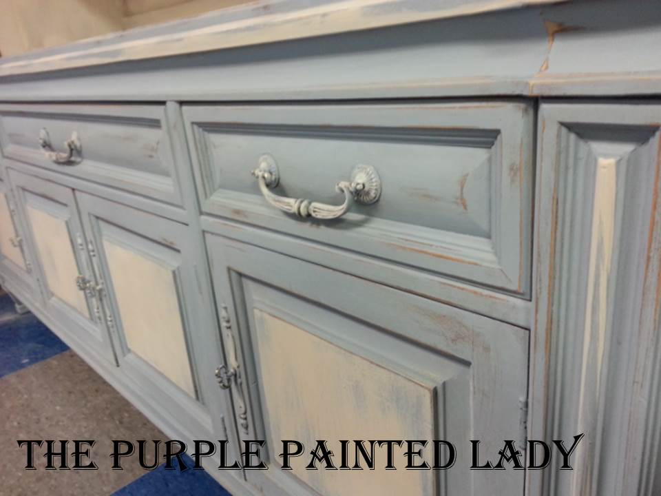 Annie Sloan Chalk Paint Purple Painted Lady