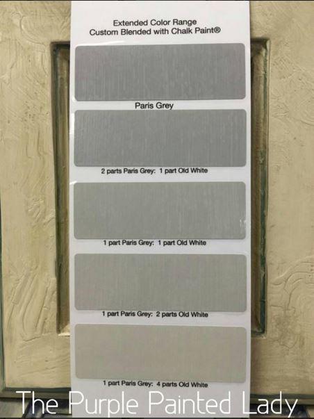 Paris Grey Color Paper The Purple Painted Lady