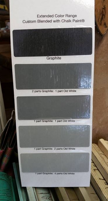 Differences Between Annie Sloan S Grey Chalk Paint