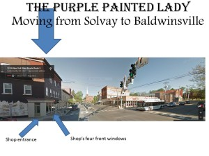 Moving from Solvay to Baldwinsville ASU  The Purple Painted Lady
