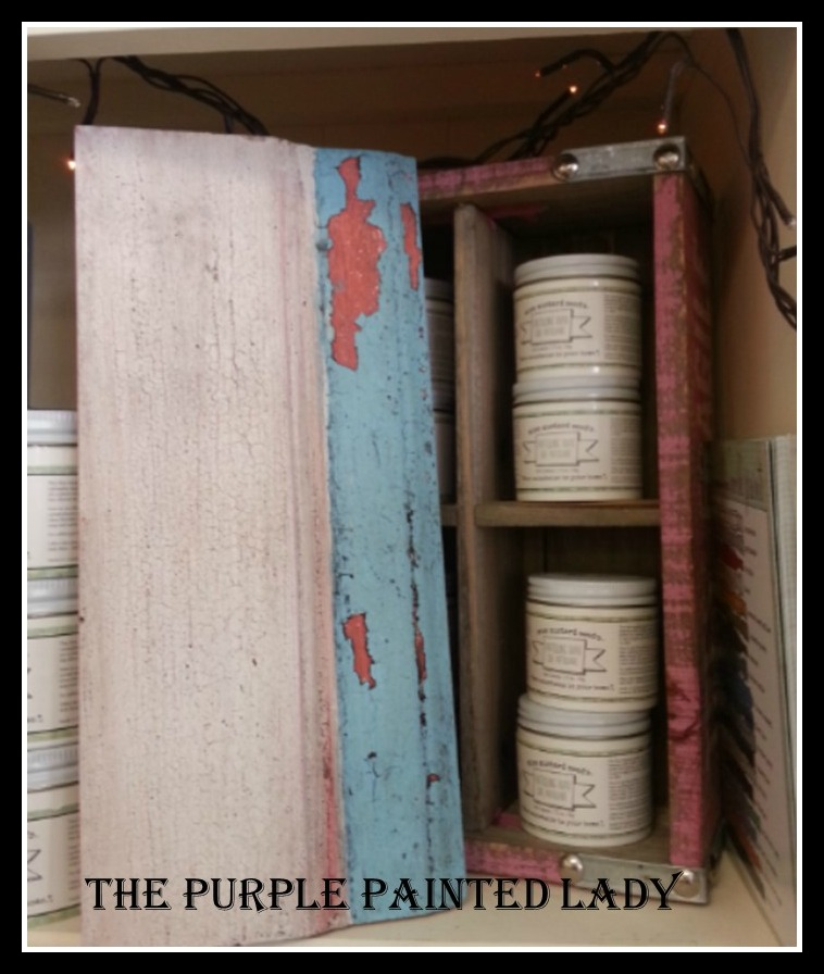 Chippy picmonkey Miss Mustard Seed The Purple Painted Lady Milk Paint