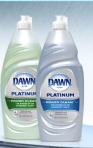 Dawn Platinum The Purple Painted Lady to clean dirty wax rags