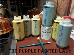 Parchment Check Colors used The Purple Painted Lady