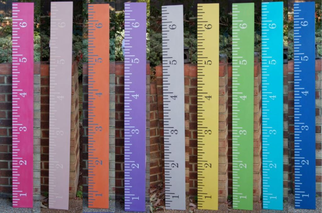 The Purple Painted Lady Aimee Crawford rulers custom colors chalk paint