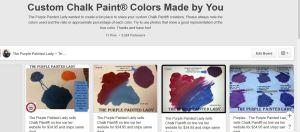 The Purple Painted Lady Pinterest Chalk Paint