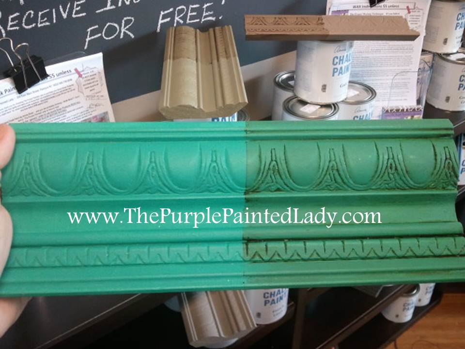 27971e5a938 Florence Sample Board. To paint your leather boots, thin your Chalk Paint®  decorative paint by Annie Sloan ...