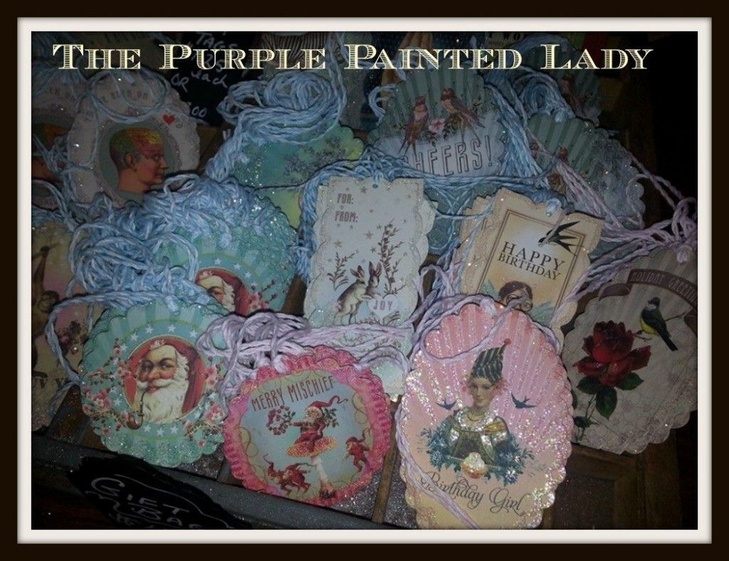 Gift Tags Chalk Paint The Purple Painted Lady