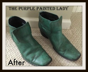 The Purple Painted Lady FLORENCE AFTGER BOOTS Indigo Tones AFTER Boots