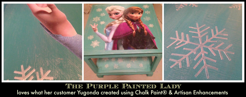 PicMonkey Collage FROZEN The Purple Painted Lady Yugonda Duffy