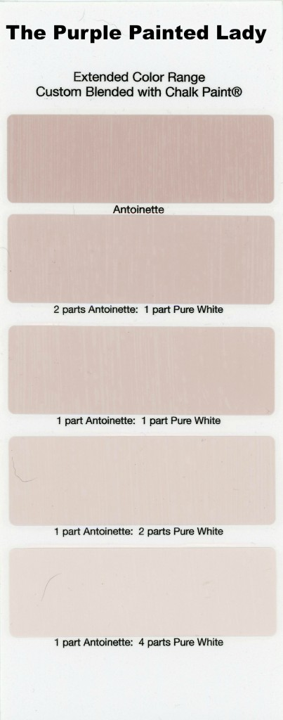 Antoinette Extended Color The Purple Painted Lady Chalk Paint