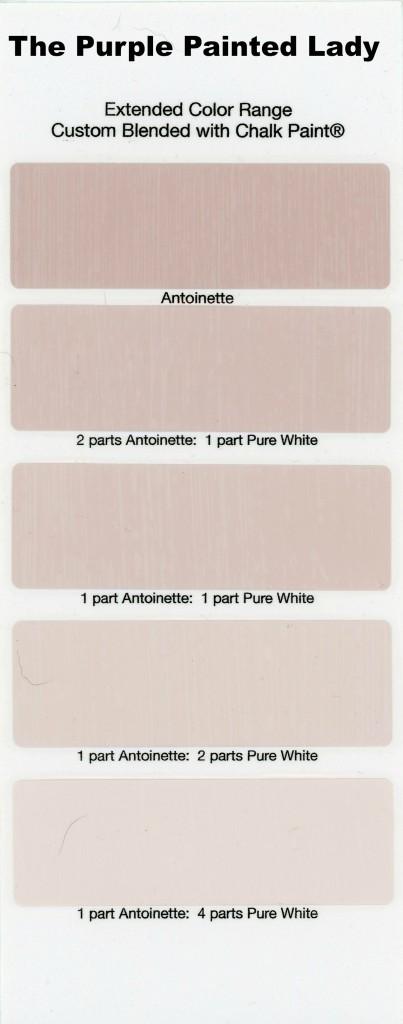 Antoinette Extended Color The Purple Painted Lady Chalk Paint