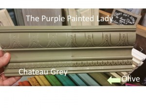 Chateau Grey Sample Board The purple Painted Lady Annie Sloan