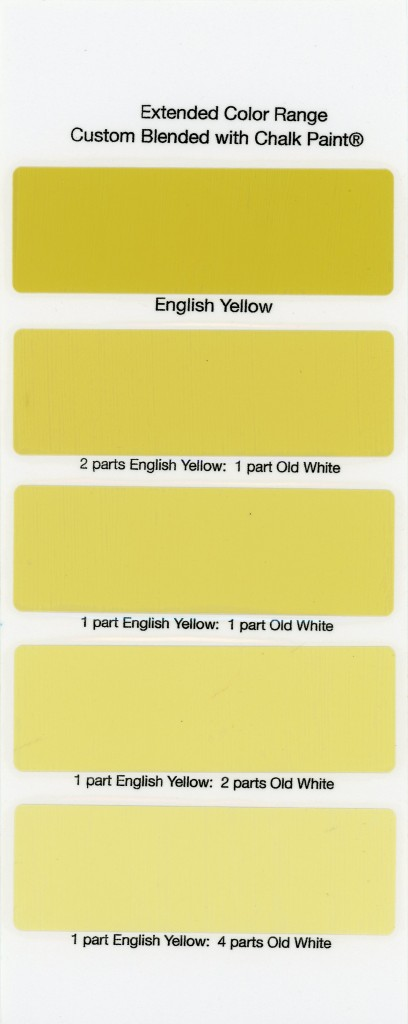 Chalk Paint Annie Sloan Black White Wax Englishyellow