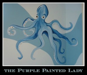 Octopus The Purple Painted Lady